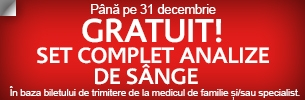 Set complet analize de sânge